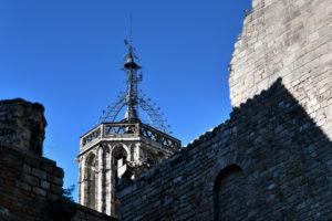 Een Photoworkx fotografieworkshop tijdens een stadswandeling in het oude centrum van Barcelona