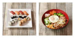 Poké & Sushi_Den-Haag Photoworkx Food fotografie